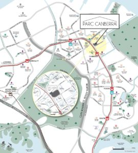 Parc-Canberra-location-map
